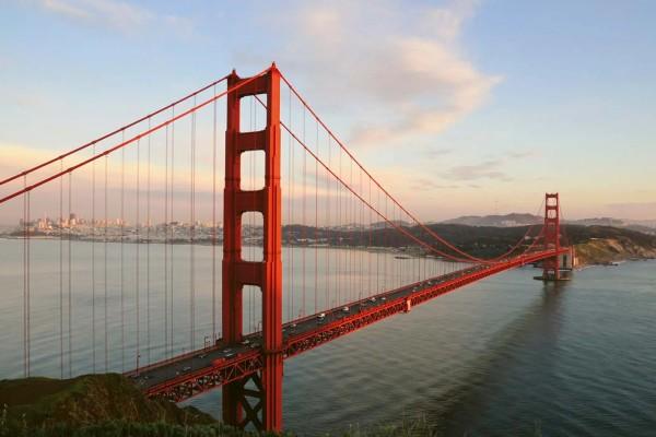 Vliestapete Golden Gate Bridge 375x250
