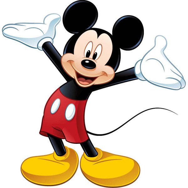 Wandsticker Mickey Mouse XXL | tapetenwelt
