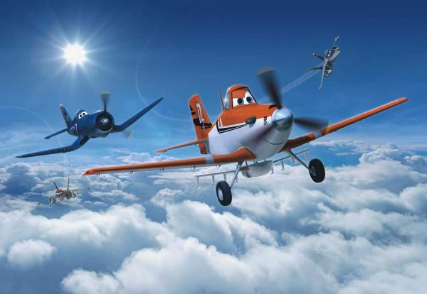 Fototapete Disney Planes Über den Wolken