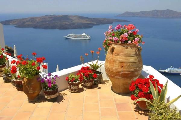 Vliestapete Griechenland 375x250