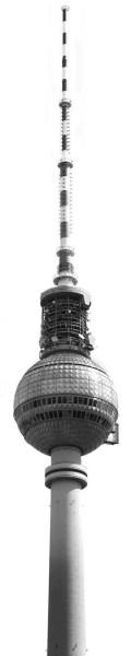 Vliestapete Fototapete Fernsehturm Berlin