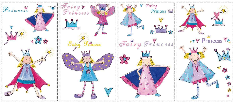 Wandsticker Kleine Prinzessin Tapetenwelt
