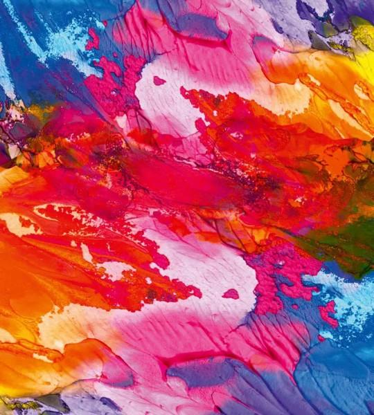 Vliestapete Explosion der Farben 225x250