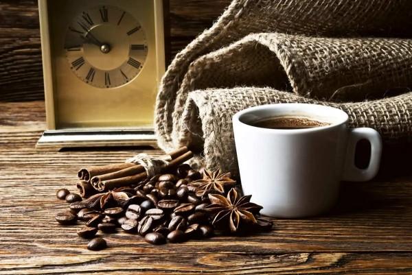Vliestapete Kaffeebohnen 375x250