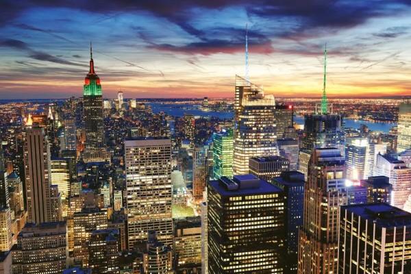 Vliestapete New York Wolkenkratzer 375x250