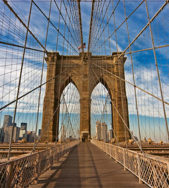 Vliestapete Brooklyn Bridge 225x250