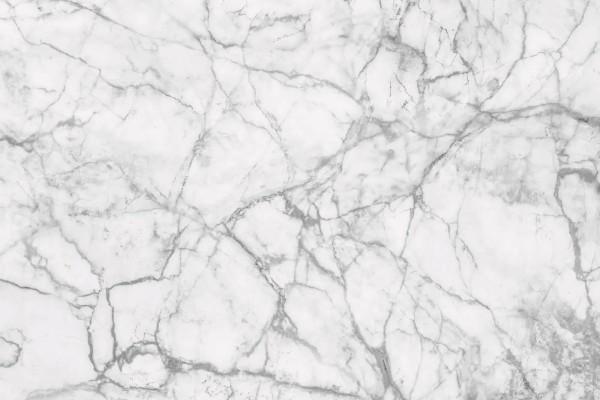 Vliestapete weißer Marmor 375x250