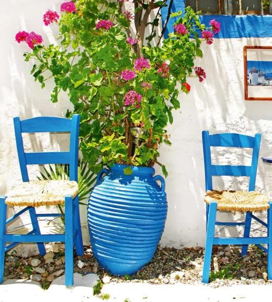 Vliestapete griechische Tradition 225x250
