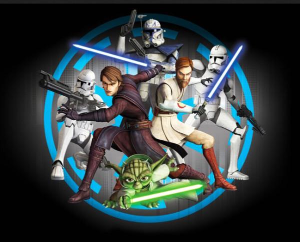 Fototapete Star Wars Clone Wars