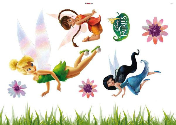 Wandsticker Tinkerbell Disney Fairies Tapetenwelt