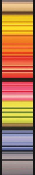 Vlies Fototapete Regenbogen Streifen