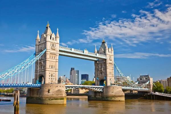 Vliestapete Tower Bridge 375x250
