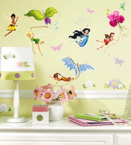 Wandsticker Disney Tinkerbell Feen Kinderzimmer