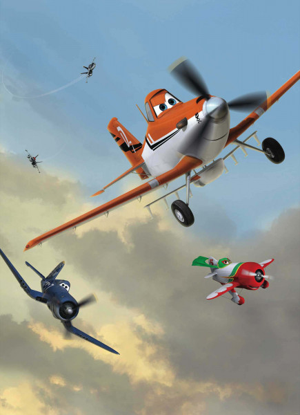 Fototapete Disney Planes Flieger Dusty
