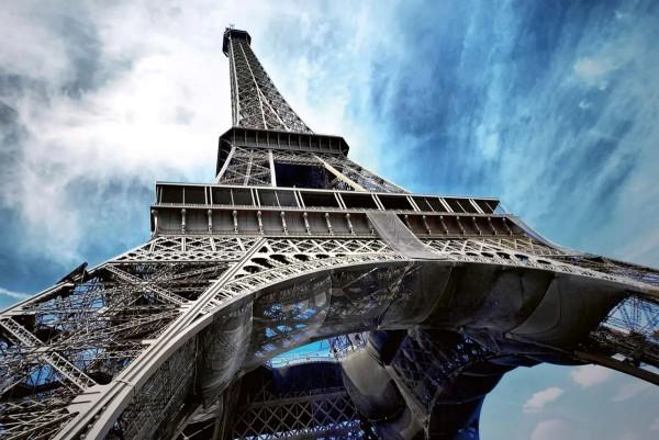 Vliestapete Eiffelturm Paris 375x250