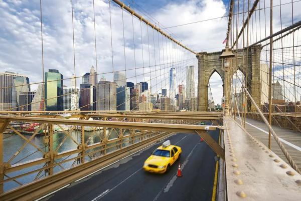 Vliestapete New York Brooklyn 375x250
