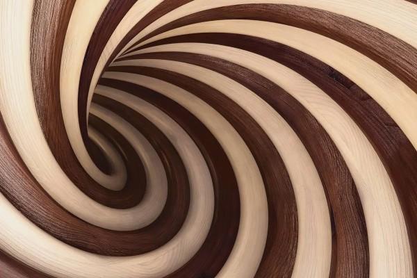 Vliestapete Kakaocreme 375x250