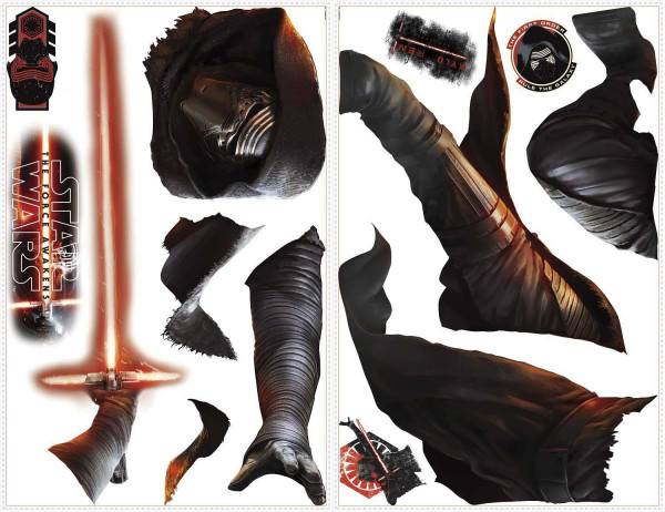 Wandsticker Star Wars Erwachen der Macht Kylo Ren