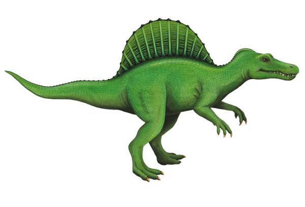 Wandsticker Dinosaurier Spinosaurus klein