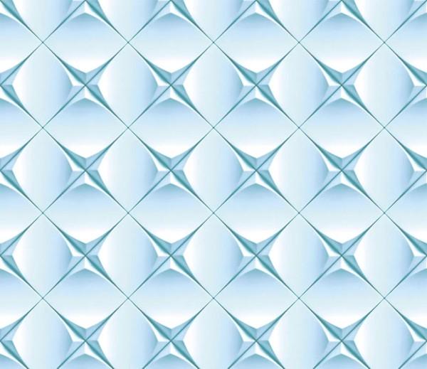 Vliestapete 3D-Optik Sterne blau