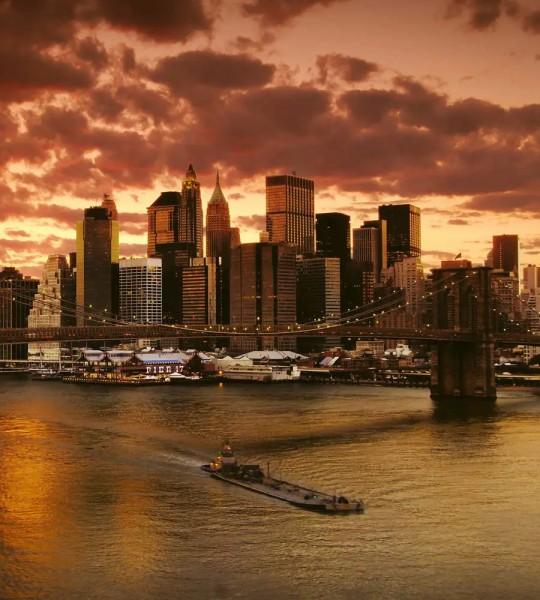 Vliestapete New York 225x250