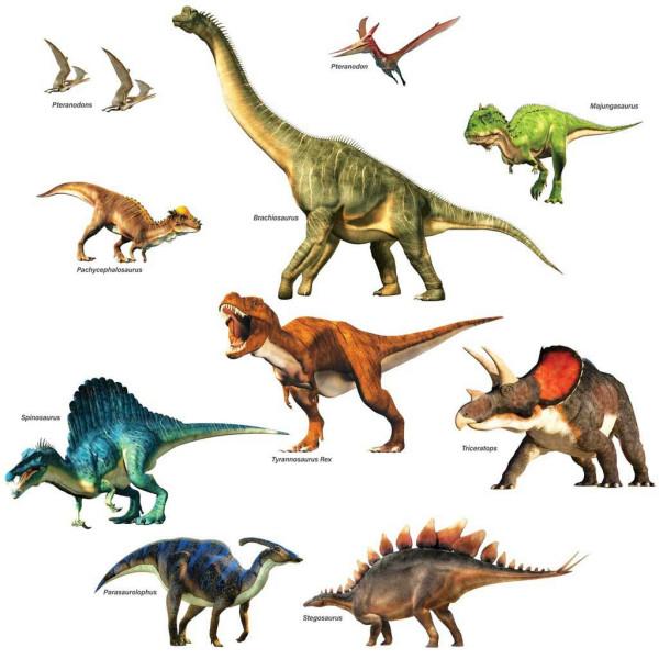 Wandsticker Dinosaurier Urzeit Giganten