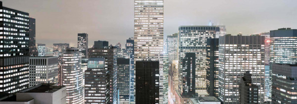 Fototapete Midtown Manhattan Panorama