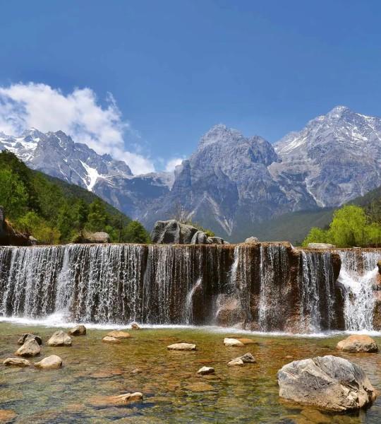 Vliestapete Alpen 225x250