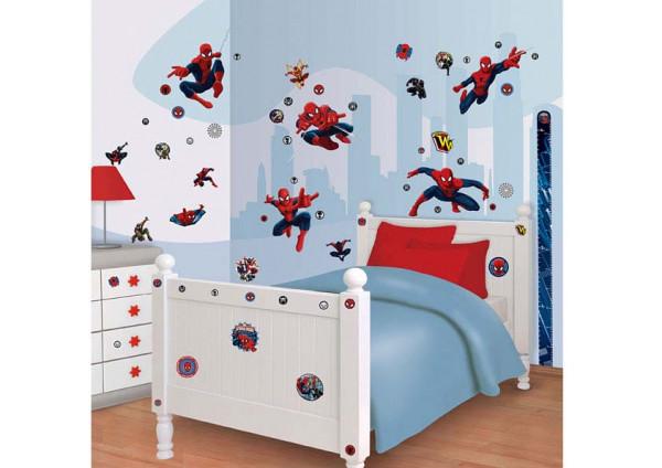 Wandsticker Ultimative Spiderman Kinderzimmer