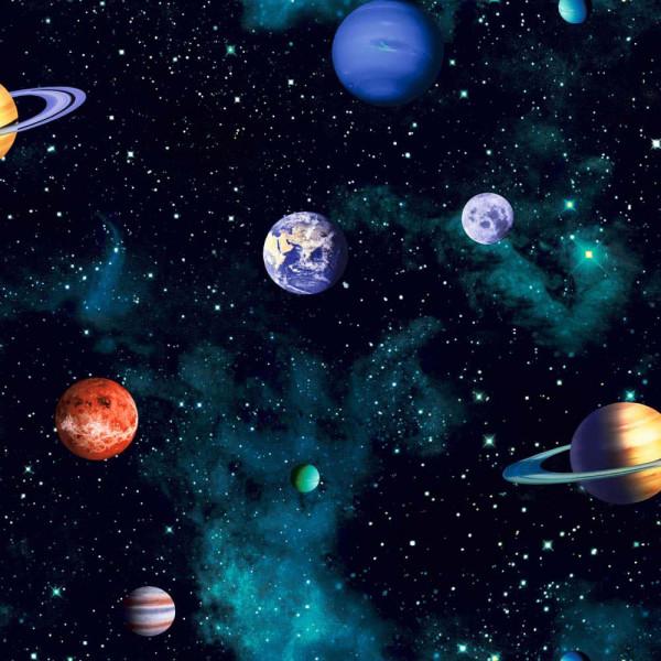 Tapete Sonnensystem Planeten Erde 3D