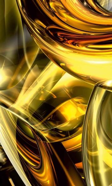 Vlies Fototapete Goldener Draht 150x250