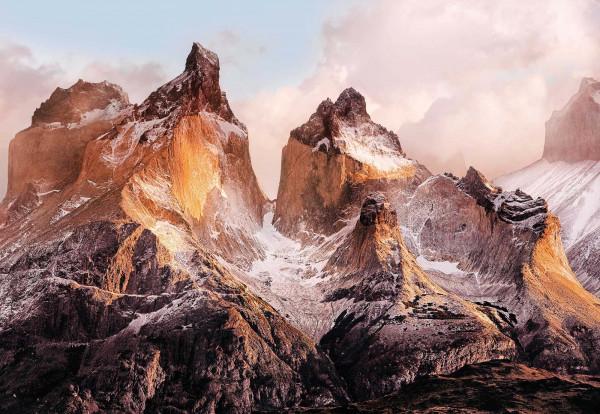 Fototapete Bergkette Chile