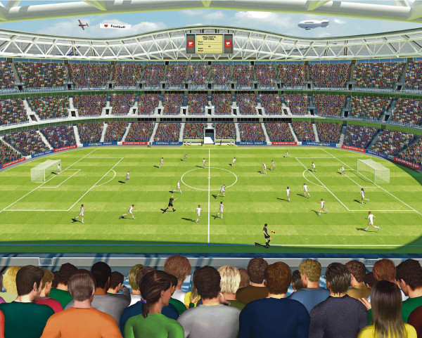 Fototapete Fußball Stadion Arena