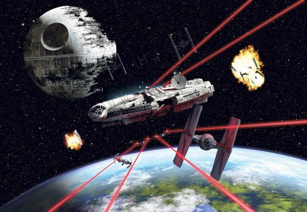 Fototapete Star Wars Millennium Falke