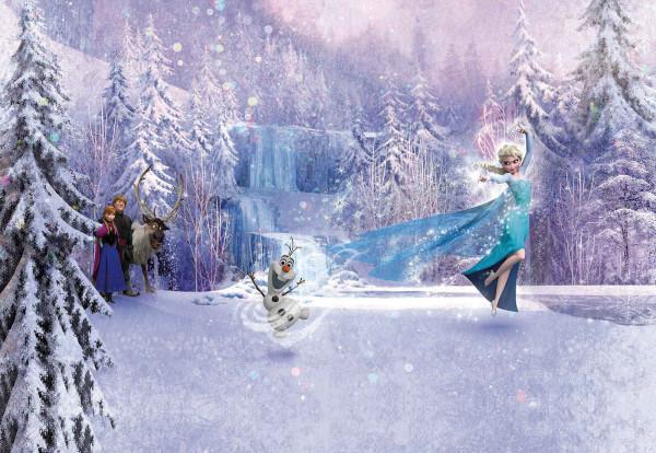 Fototapete Disney Frozen Eiskönigin