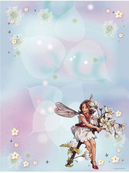 Wandsticker Memotafel Blumen-Feen