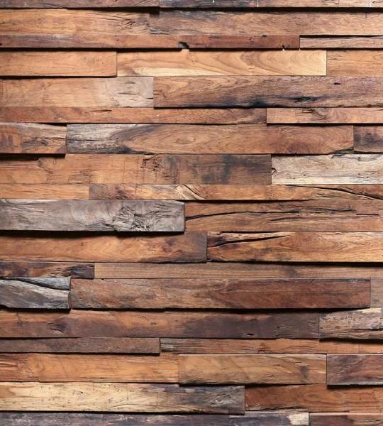Vliestapete Holzwand 225x250