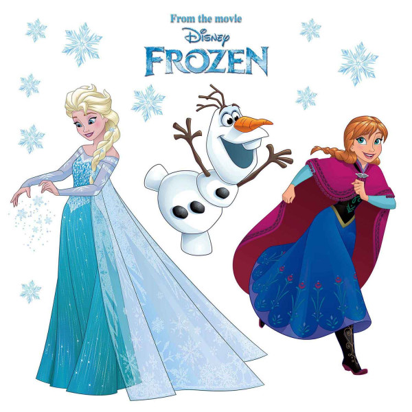 Fensterbilder Disney Frozen Winter