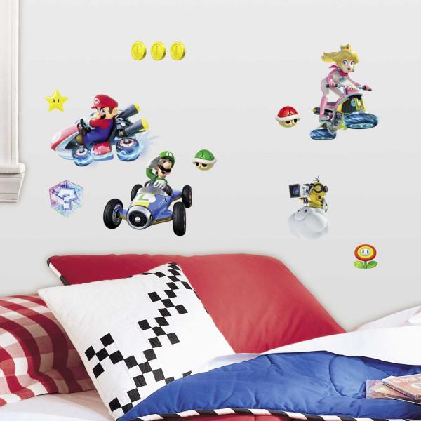 Wandsticker Super Mario Kart