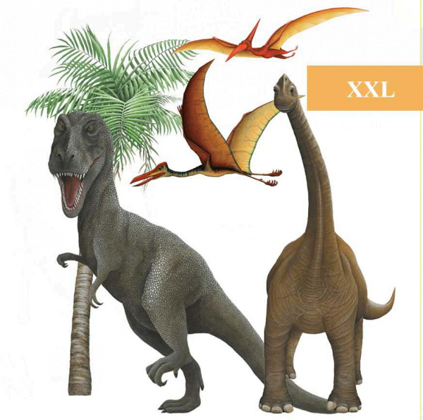 Wandsticker Dinosaurierwelt Wall Art Set