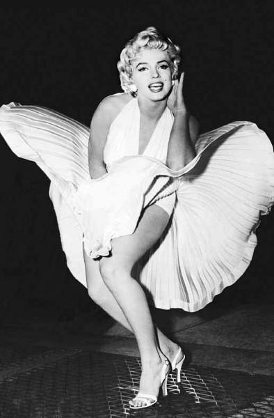 Wandbild Poster Legende Marilyn Monroe