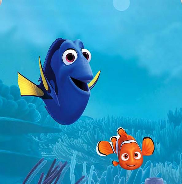 RoomMates Fototapete Finding Dory & Nemo