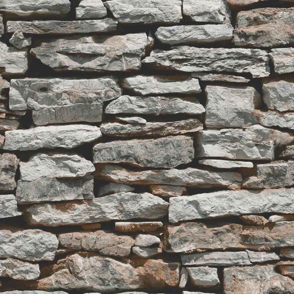 Tapete marokkanische Mauer natur Schiefer