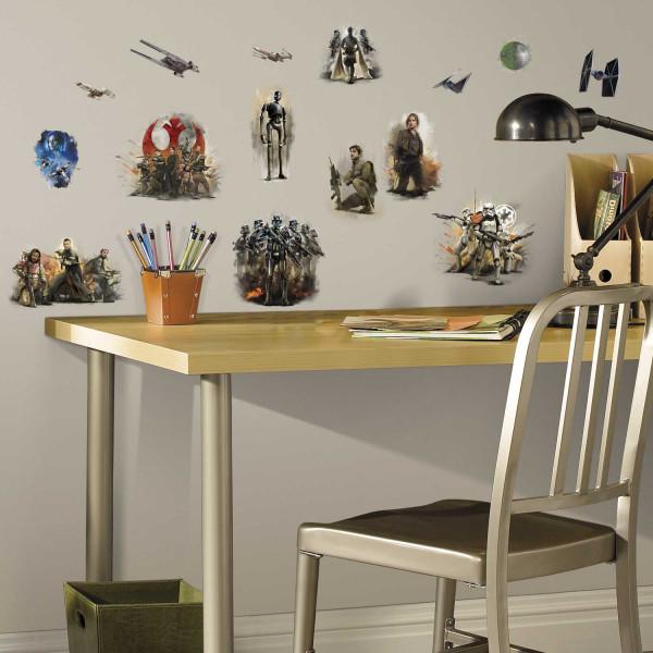 RoomMates Wandsticker Star Wars Rogue One Kinderzimmer