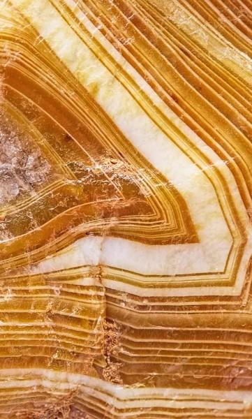 Vlies Fototapete Mineral Achat 150x250