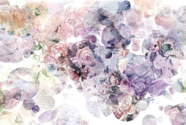 Vlies Fototapete Blumenromantik Blüten