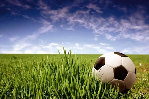 Vliestapete Fußball 375x250