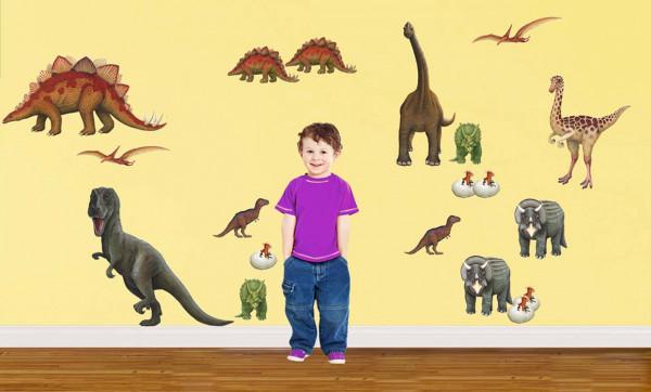 Wandsticker Dinosaurier Kinderzimmer