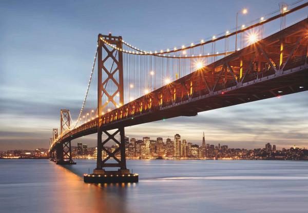 Fototapete San Franzisko Bay Brücke