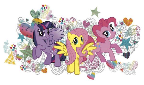 RoomMates Wandsticker Wandbild My little Pony XXL